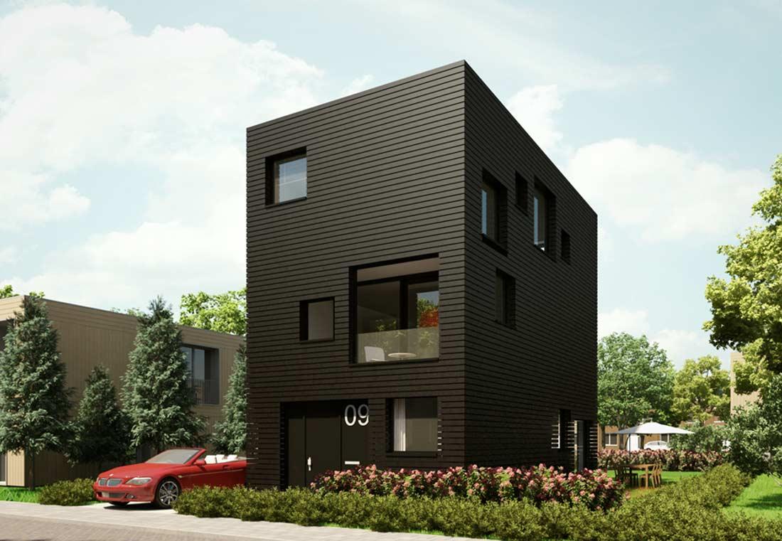 startbouw woning zelfbouwkavel gele lis den haag