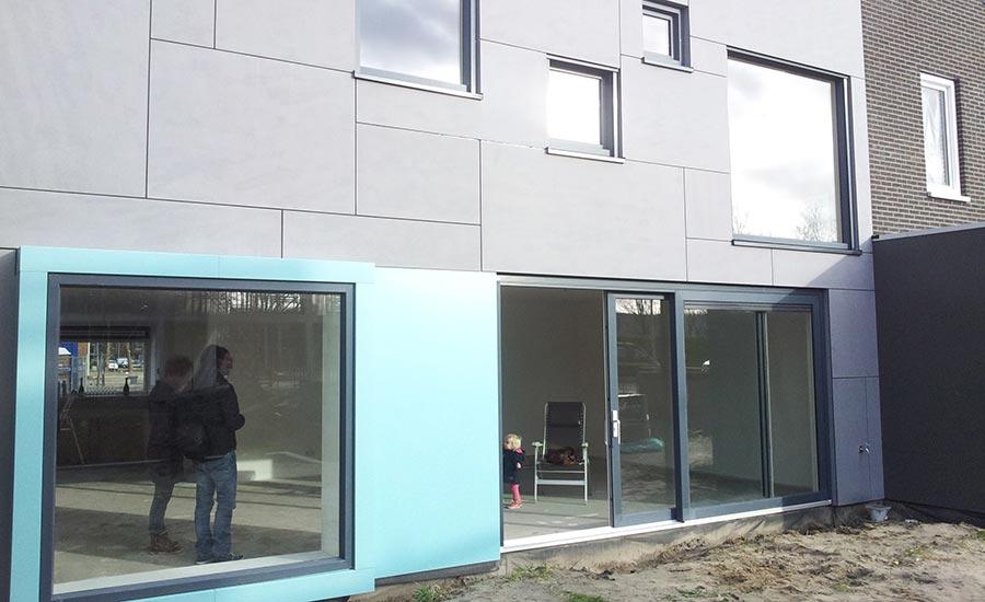 Moderne woning zelfbouw kavel Escamplaan Den Haag