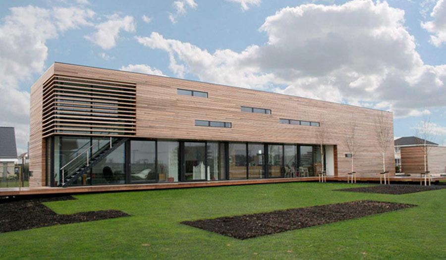 Villa Nesseland Rotterdam - Exterieur Tuinzijde