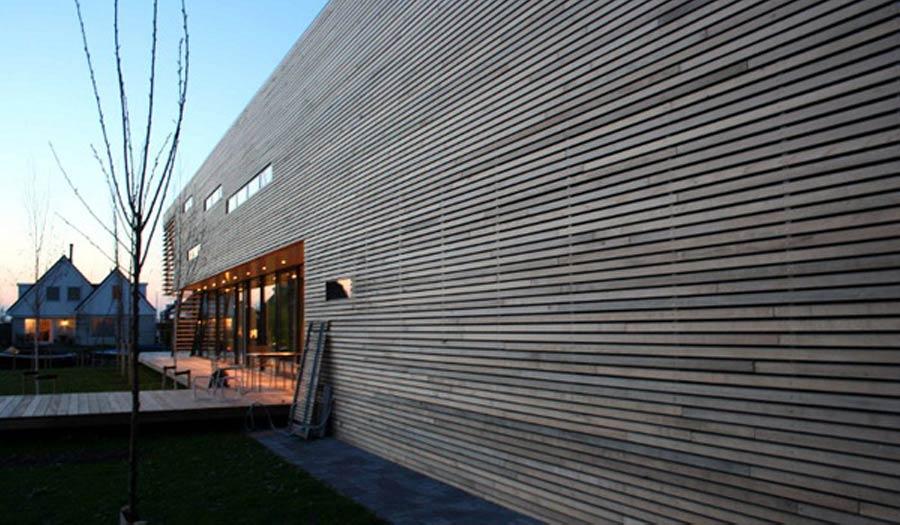 Villa Nesseland Rotterdam - Houten gevel
