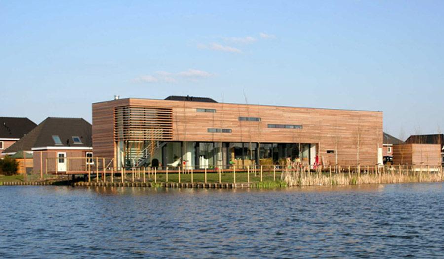 Zelfbouw Villa Nesselande Rotterdam