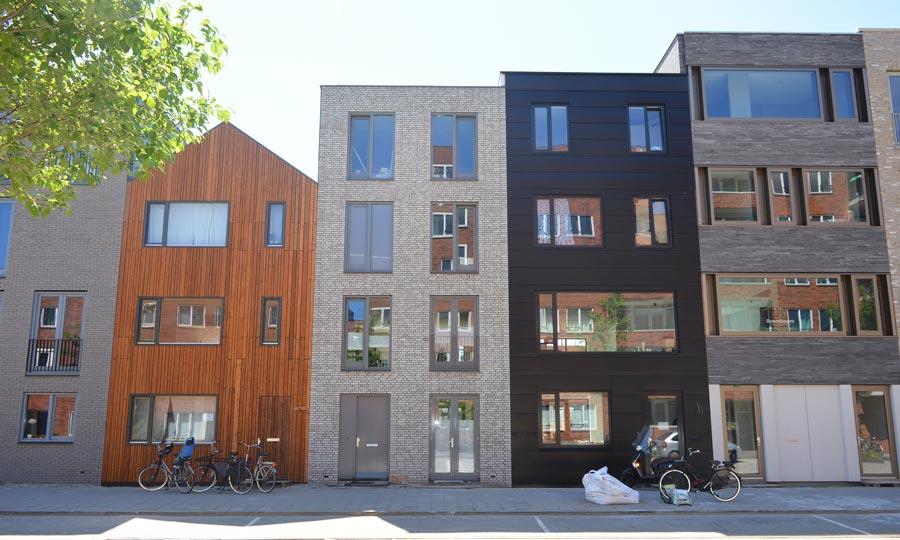 Wonen In Ijburg : Zelfbouw woningen blok ijburg amsterdam