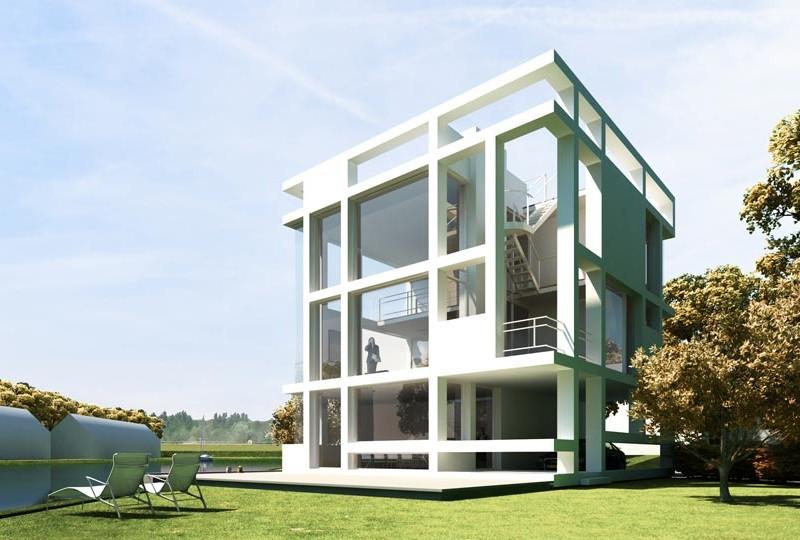 Villa Kubuseiland Utrecht Terwijde