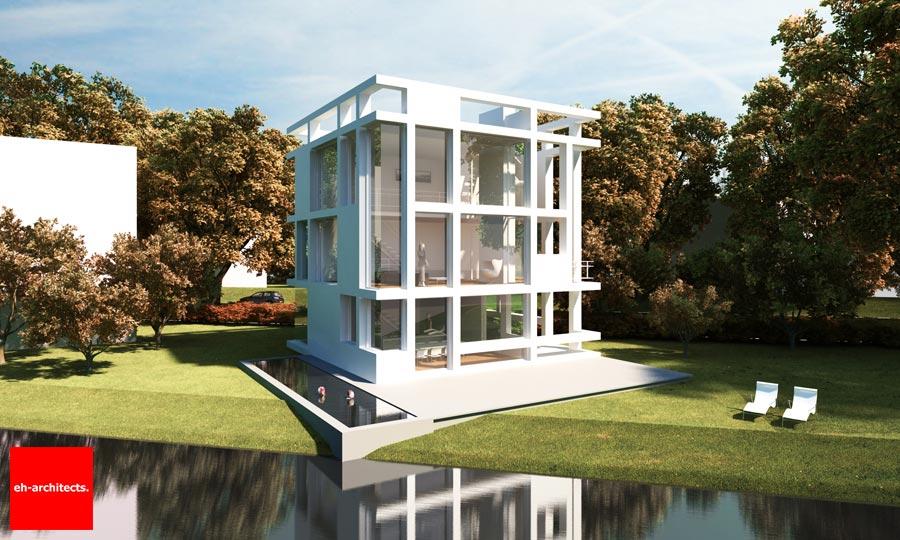 Zelfbouw Architect Villa Kubuseiland Utrecht Terwijde