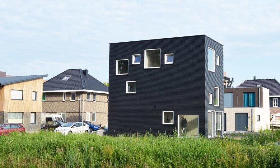 Zelfbouw woning Gele Lis Den Haag