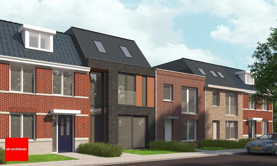 Woningen zelfbouw kavels Boomaweg Den Haag