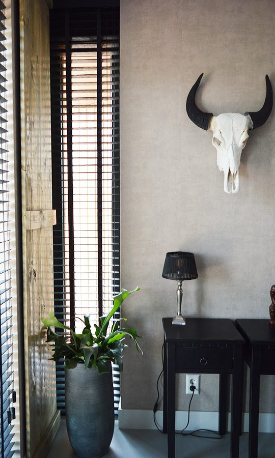 Zelfbouw woning Boomaweg Den Haag - fragment slaapkamer