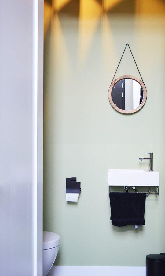 Zelfbouw woning Boomaweg Den Haag - toilet