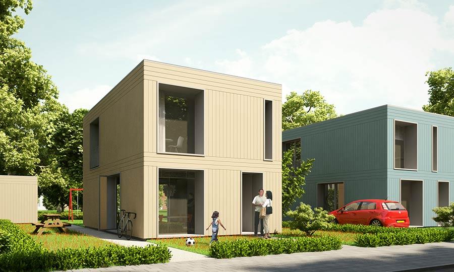 Vrijstaande woning homeruskwartier almere poort kavel hkw256 for Prijzen nieuwbouw vrijstaande woning