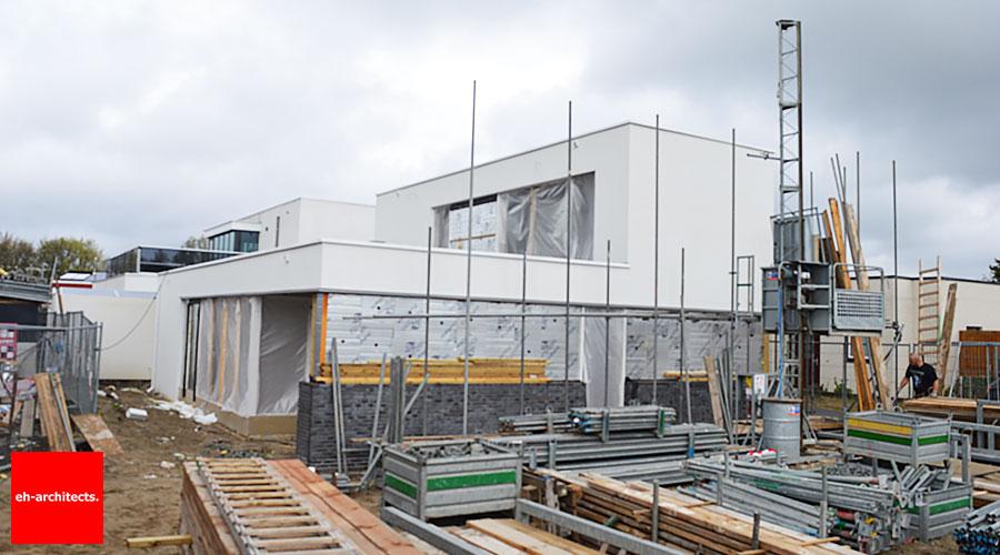 Zelfbouw Erasmushove Den Haag bouwplaats