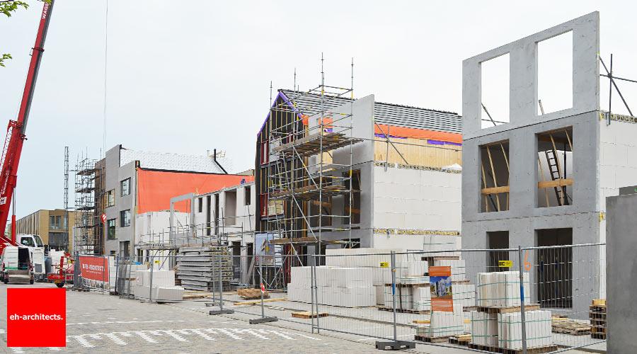 Zelfbouw IJburg Amsterdam - casco
