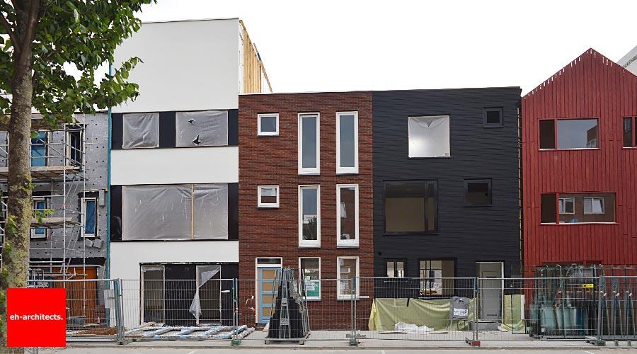 Zelfbouw Blok 59 IJburg Amsterdam