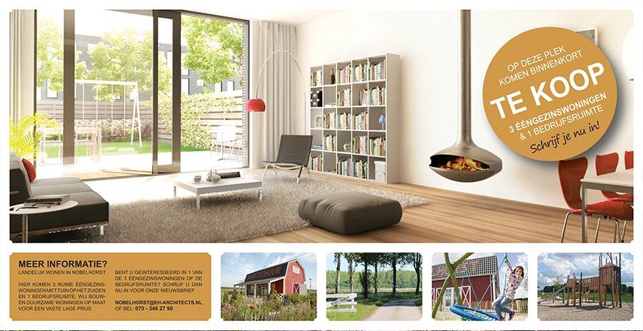 Nieuwbouw woningen Nobelhorst Almere