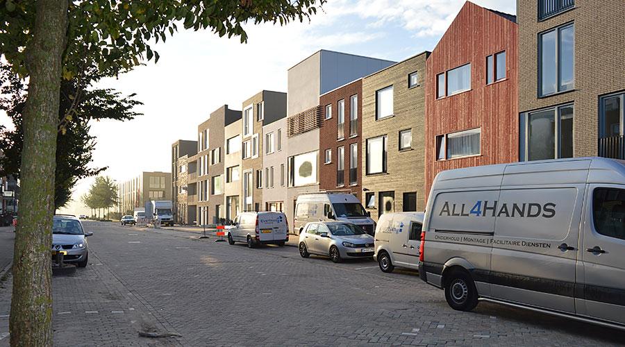 Zelfbouw woningen kavels Blok 59 IJburg Amsterdam