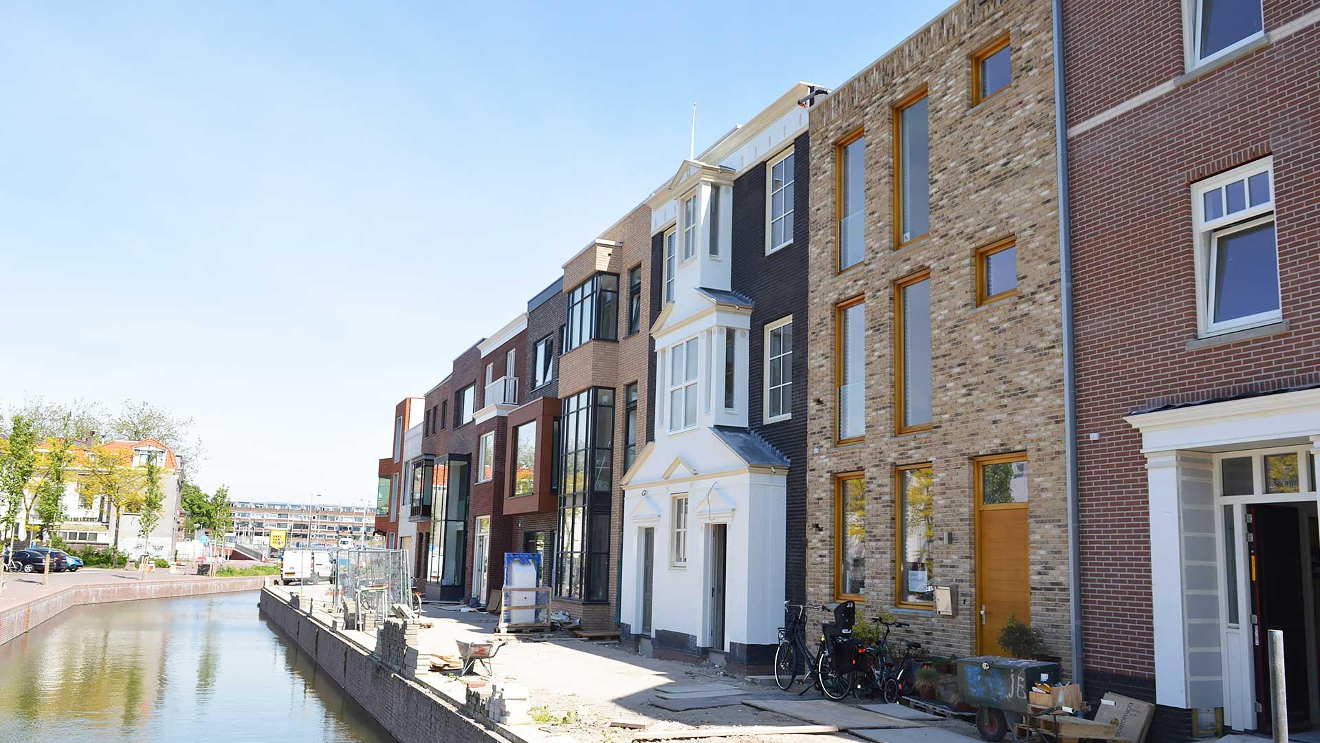 Woningen Coendersbuurt Nieuw Delft