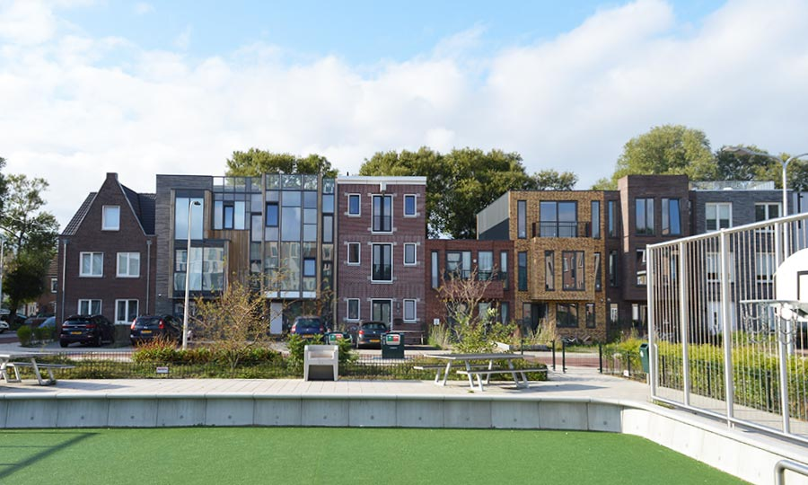 Architectenbureau Den Haag : Woningen escamplaan den haag fase eh architects